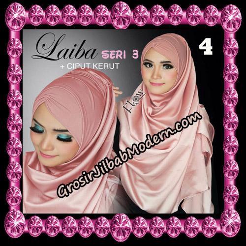 Jilbab Instant Silk Syria Laiba Seri 3 Original By Flow Idea No 4
