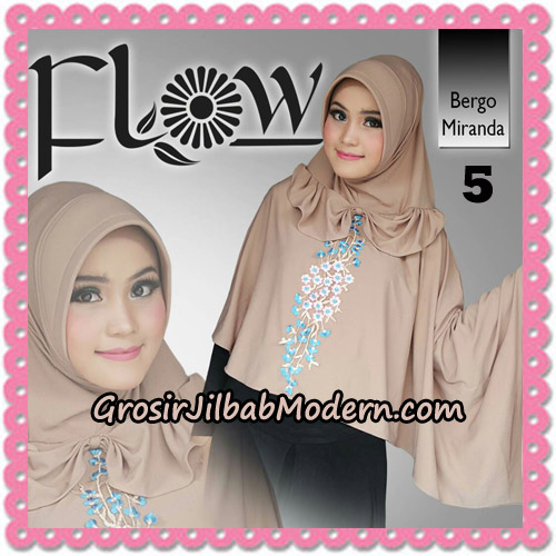 Jilbab Instant Syria Bergo Miranda Original By Flow Idea No 5