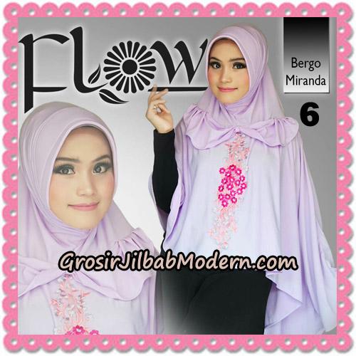 Jilbab Instant Syria Bergo Miranda Original By Flow Idea No 6