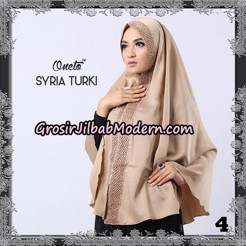 Jilbab Instant Syria Turki Exclusive Support Oneto Hijab NO 4