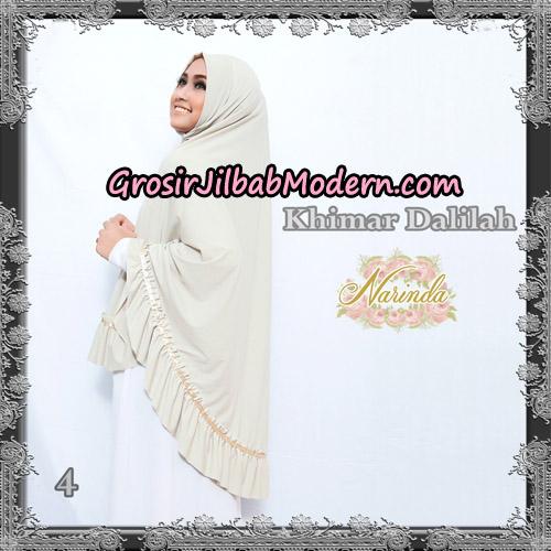 Jilbab Jumbo Khimar Dalilah Original By Narinda Hijab No 4 Krem