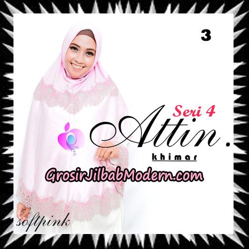 Jilbab Khimar Attin Seri 4 Original By Apple Hijab Brand No 3 Soft Pink