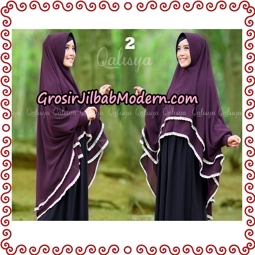 Jilbab Khimar Modern Exclusive Tunik Yumna By Qalisya Hijab No 2