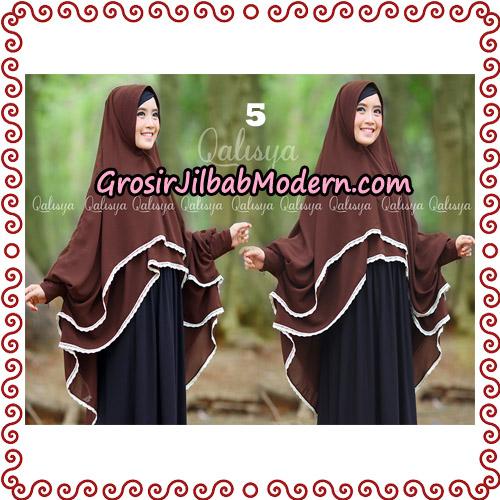 Jilbab Khimar Modern Exclusive Tunik Yumna By Qalisya Hijab No 5