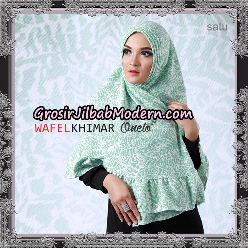 Jilbab Khimar Wafel Cantik Support Oneto Hijab No 1