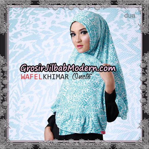 Jilbab Khimar Wafel Cantik Support Oneto Hijab No 2