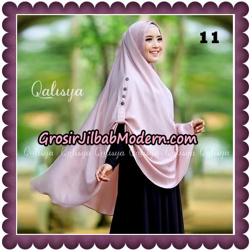 Jilbab Khimar Ziya Original By Qalisya Hijab Brand No 11