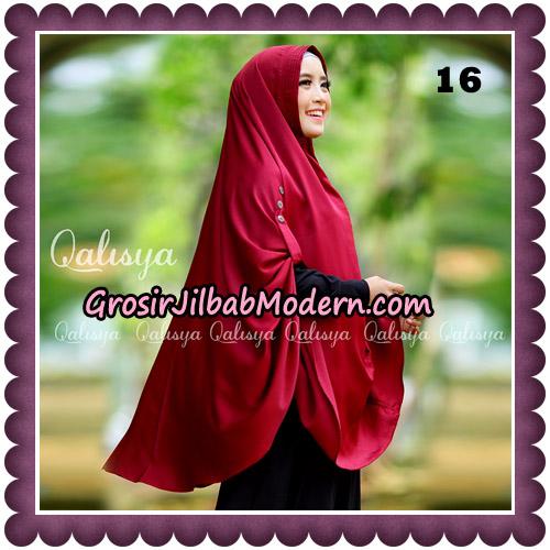 Jilbab Khimar Ziya Original By Qalisya Hijab Brand No 16