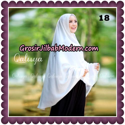 Jilbab Khimar Ziya Original By Qalisya Hijab Brand No 18