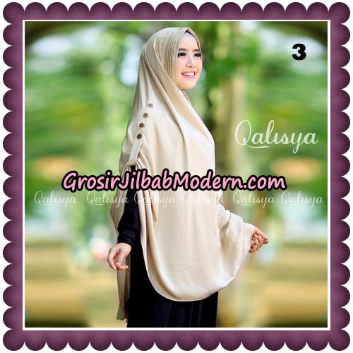 Jilbab Khimar Ziya Original By Qalisya Hijab Brand No 3