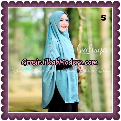 Jilbab Khimar Ziya Original By Qalisya Hijab Brand No 5