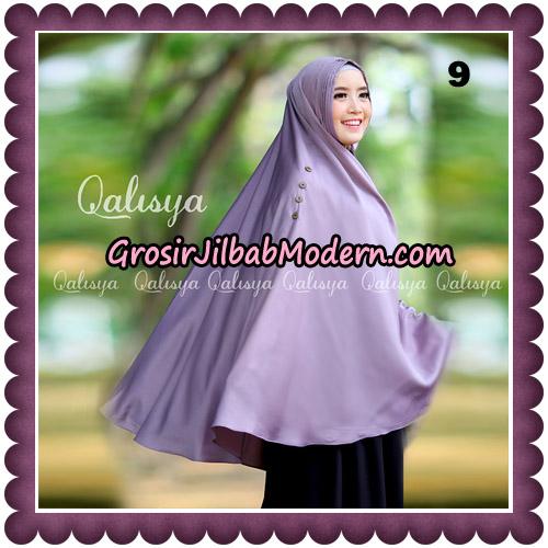 Jilbab Khimar Ziya Original By Qalisya Hijab Brand No 9