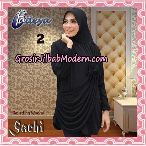 Jilbab Lengan Tunik Sachi Original By Fadeya Brand No 2