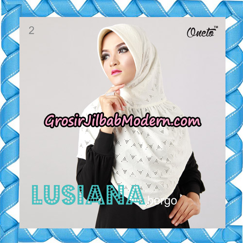 Jilbab Lusiana Bergo Original By Oneto Hijab Brand No 2