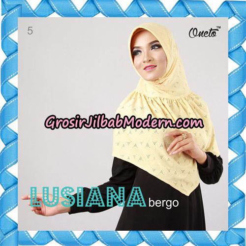 Jilbab Lusiana Bergo Original By Oneto Hijab Brand No 5