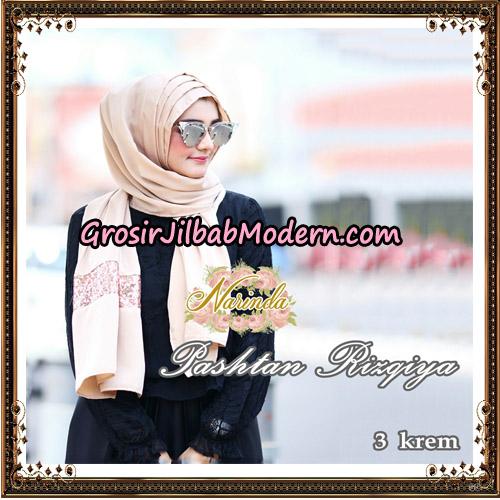 Jilbab Pashtan Rizqiya Original By Narinda Hijab No 3