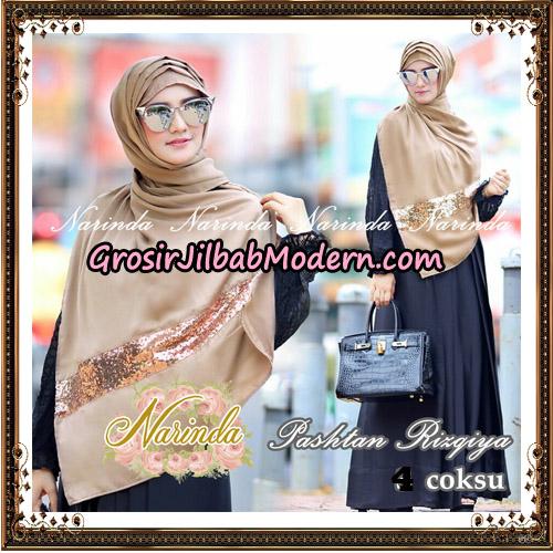 Jilbab Pashtan Rizqiya Original By Narinda Hijab No 4