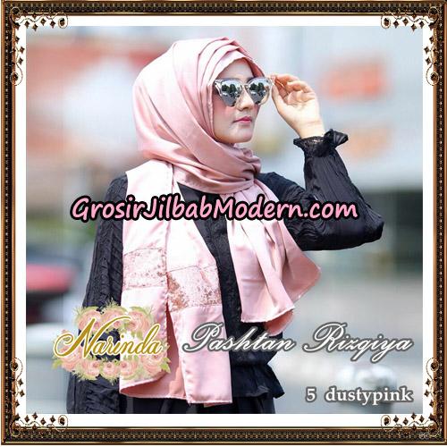 Jilbab Pashtan Rizqiya Original By Narinda Hijab No 5