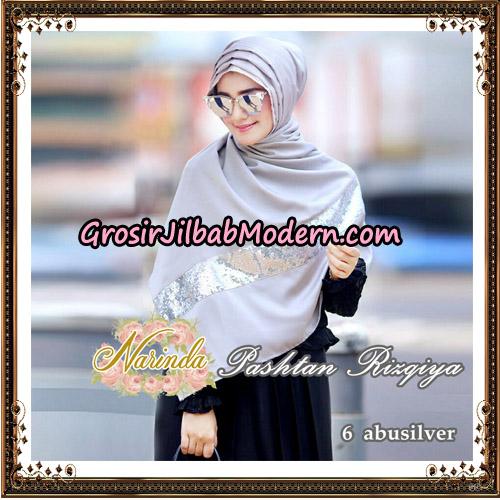 Jilbab Pashtan Rizqiya Original By Narinda Hijab No 6
