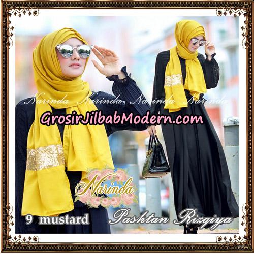 Jilbab Pashtan Rizqiya Original By Narinda Hijab No 9