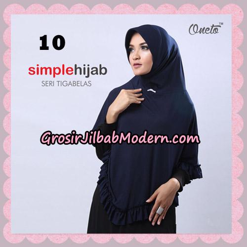Jilbab Bergo Instant Simple Hijab Seri 13 By Firza Hijab Support Oneto No 10