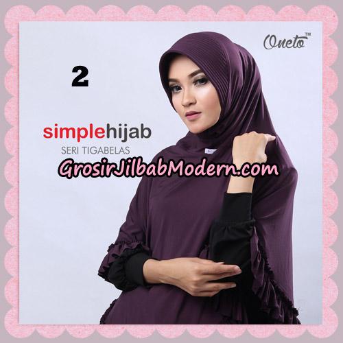 Jilbab Bergo Instant Simple Hijab Seri 13 By Firza Hijab Support Oneto No 2