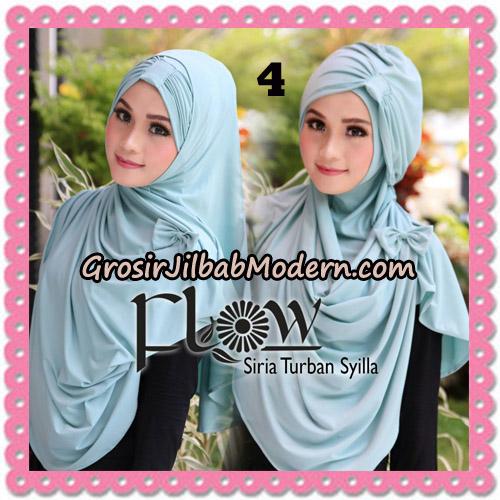 Jilbab Instant Syria Turban Syilla Original By Flow Idea No 4
