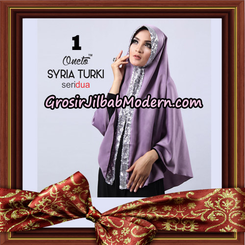 Jilbab Instant Syria Turki Seri 2 Exclusive Support Oneto Hijab No 1