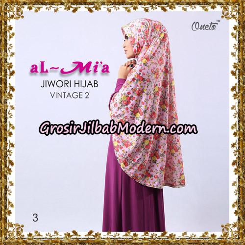 Jilbab Jersey Jiwori Hijab Vintage 2 Original By Almia Brand No 3