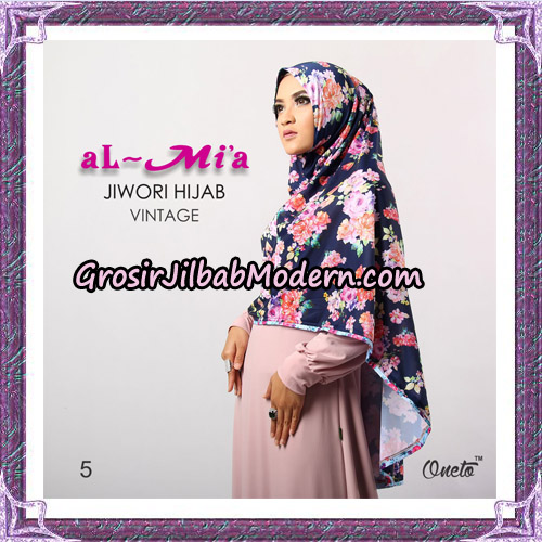 Jilbab Jiwori Hijab Vintage Original By Almia Brand No 5