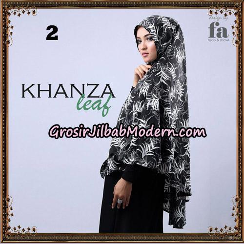 Jilbab Khimar Khanza Leaf By Fa Hijab Support Oneto Hijab No 2