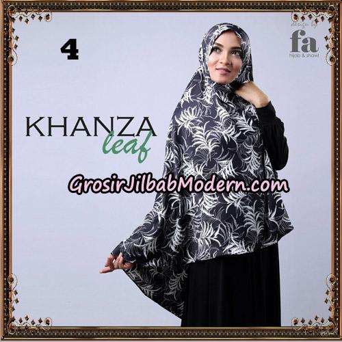 Jilbab Khimar Khanza Leaf By Fa Hijab Support Oneto Hijab No 4