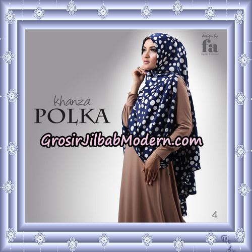 Jilbab Khimar Khanza Polka By Fa Hijab Support Oneto Hijab No 4