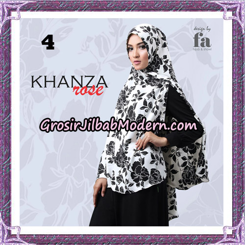 Jilbab Khimar Khanza Rose By Fa Hijab Support Oneto Hijab No 4