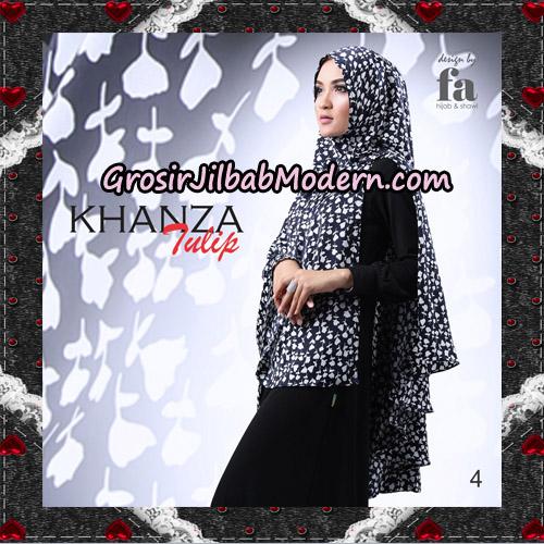 Jilbab Khimar Khanza Tulip By Fa Hijab Support Oneto Hijab No 4