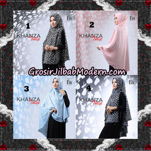Jilbab Khimar Khanza Tulip By Fa Hijab Support Oneto Hijab