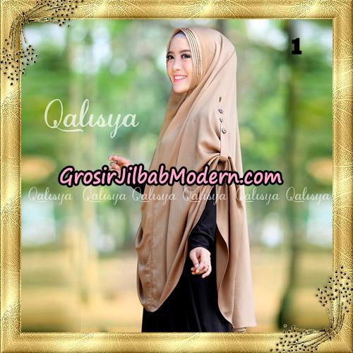 Jilbab Khimar Syari Ziya Seri 2 Original By Qalisya Hijab Brand No 1