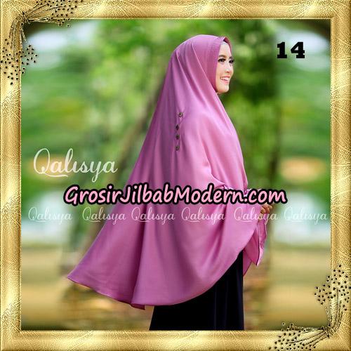 Jilbab Khimar Syari Ziya Seri 2 Original By Qalisya Hijab Brand No 14