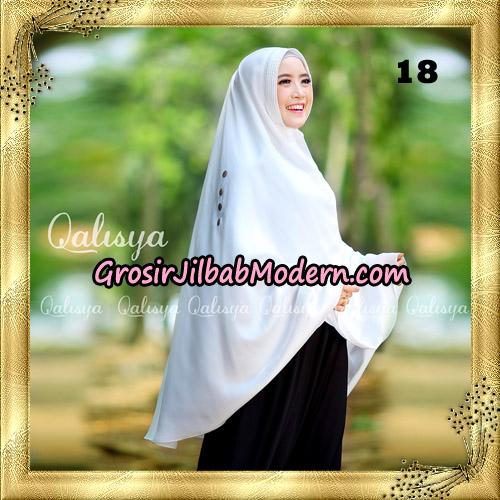 Jilbab Khimar Syari Ziya Seri 2 Original By Qalisya Hijab Brand No 18