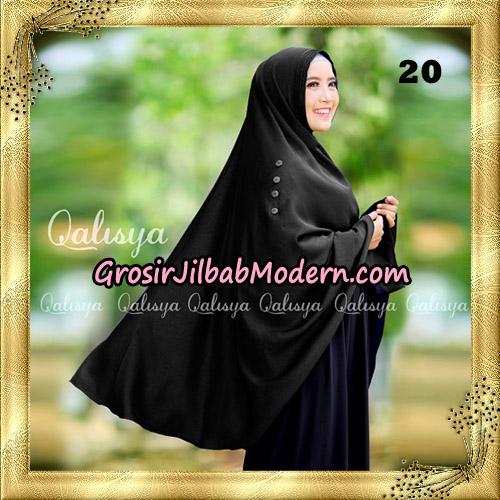 Jilbab Khimar Syari Ziya Seri 2 Original By Qalisya Hijab Brand No 20