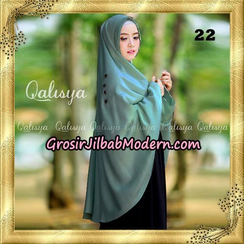 Jilbab Khimar Syari Ziya Seri 2 Original By Qalisya Hijab Brand No 22