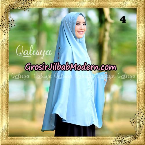 Jilbab Khimar Syari Ziya Seri 2 Original By Qalisya Hijab Brand No 4