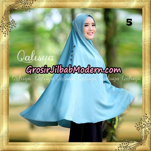Jilbab Khimar Syari Ziya Seri 2 Original By Qalisya Hijab Brand No 5