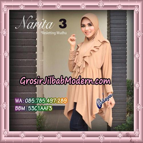 Jilbab Lengan Tunik Narita Original By Fadeya Brand No 3