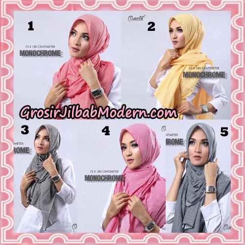 Jilbab Pashmina Anyam Original Firza Hijab Support Oneto Hijab