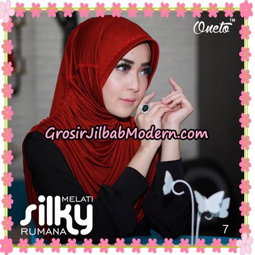 Jilbab Rumana Silky Melati Original By Oneto Hijab Brand No 7
