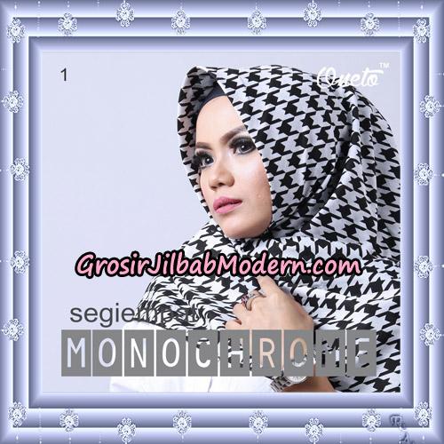 Jilbab Segi 4 Monochrome Original Firza Hijab Support Oneto Hijab No 1