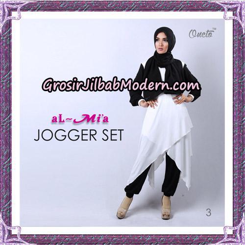 Setelan Jogger Set Trendy Original By Almia Brand No 3