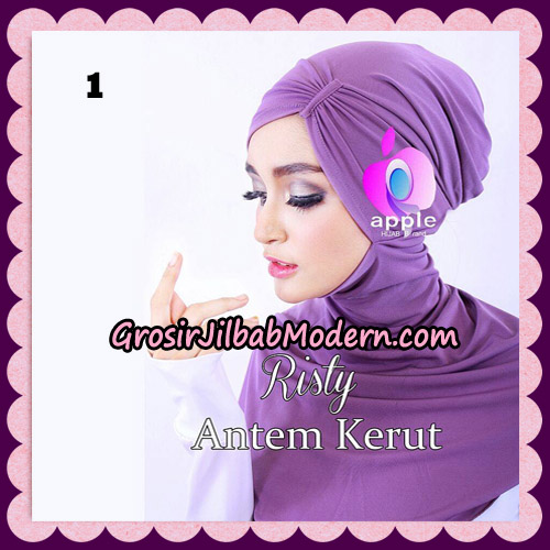 Inner Ninja Risty Antem Kerut Original By Apple Hijab Brand No 1