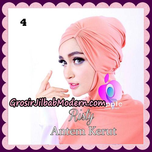 Inner Ninja Risty Antem Kerut Original By Apple Hijab Brand No 4